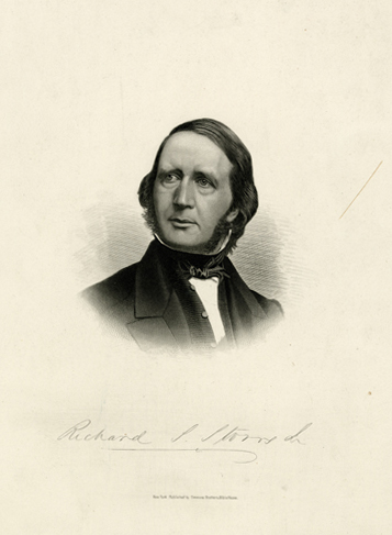 Richard S. Storrs. ca. 1865. Portrait collection. M1975.190.1. Brooklyn Historical Society.
