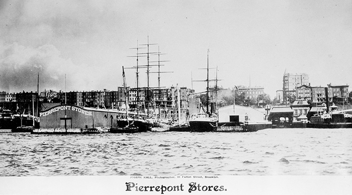 Pierrepont Stores. ca. 1890. Brooklyn photograph and illustration collection. V1973.5.854. Brooklyn Historical Society.
