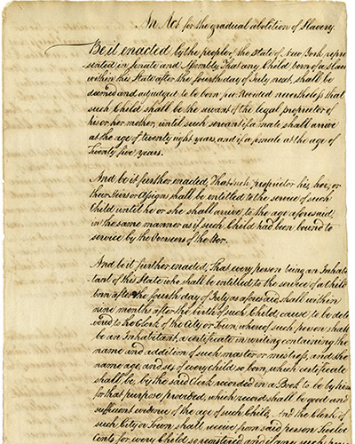 New York State Archives, New York (State). Dept. of State. Bureau of Miscellaneous Records. Enrolled acts of the State Legislature, 1778-2005. Series 13036-78, Laws of 1799, Chapter 62.